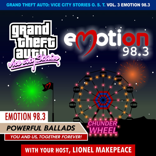 Portada de GTA Vice City Stories Emotion 98.3 por DJBarchs