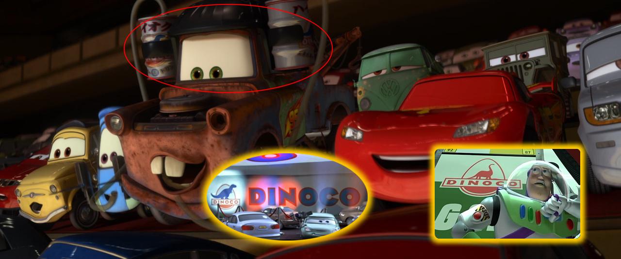 Cameos Pixar en Cars 2 : DJBarchs