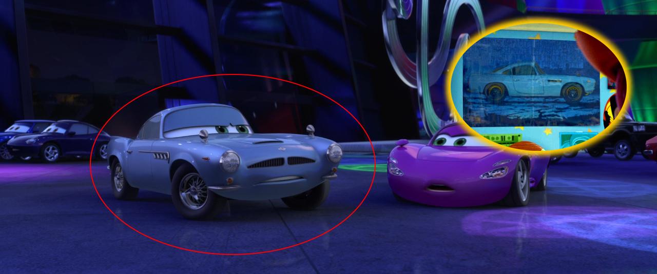 Cameos Pixar En Cars 2 Djbarchs