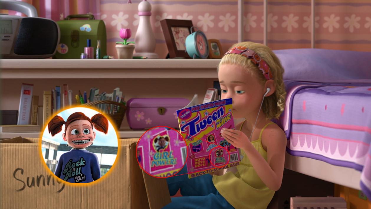 Cameos Pixar en Toy Story 3 : DJBarchs