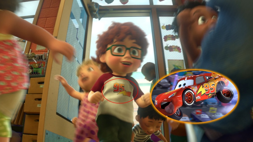 Toy Story 3 - Logo McQueen (Cars)