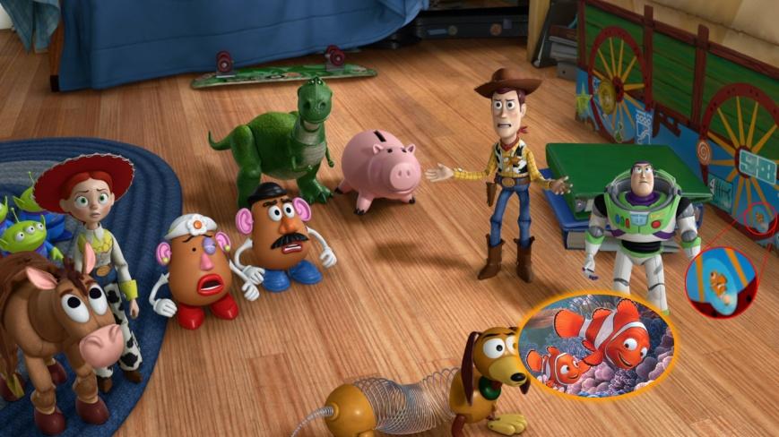 Toy Story 3 - Nemo 1 (Buscando a Nemo)
