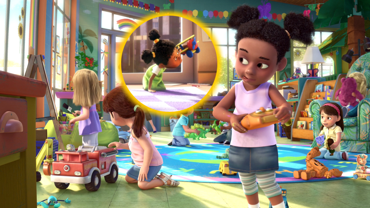 Disney Toy Story 3 Day Care Dash : Cameos pixar en toy story djbarchs