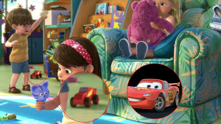 Toy Story 3 - Rayo McQueen (Cars)