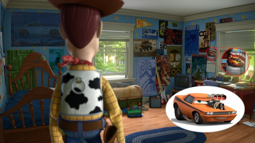 Toy Story 3 - Snot Rod (Cars)