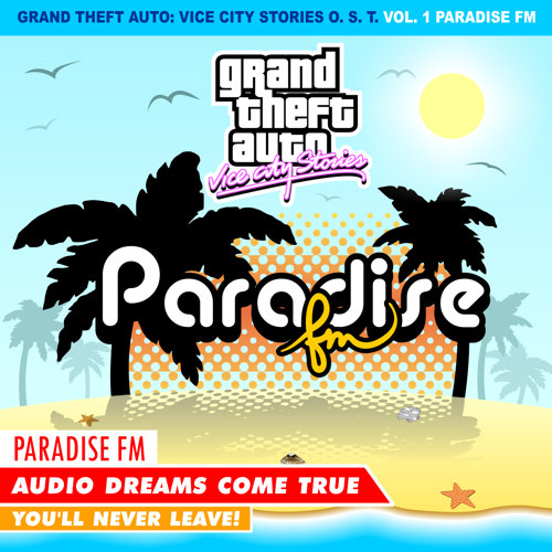 Portada de GTA Vice City Stories: Paradise FM por DJBarchs