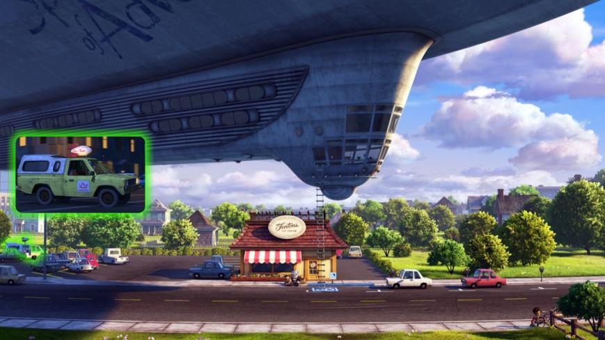 Up - Camioneta Pizza Planeta 3 (Toy Story)