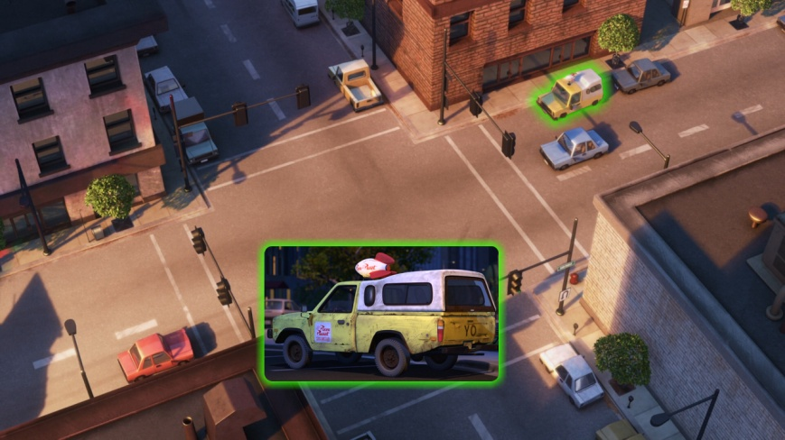 Up - Camioneta Pizza Planeta (Toy Story)