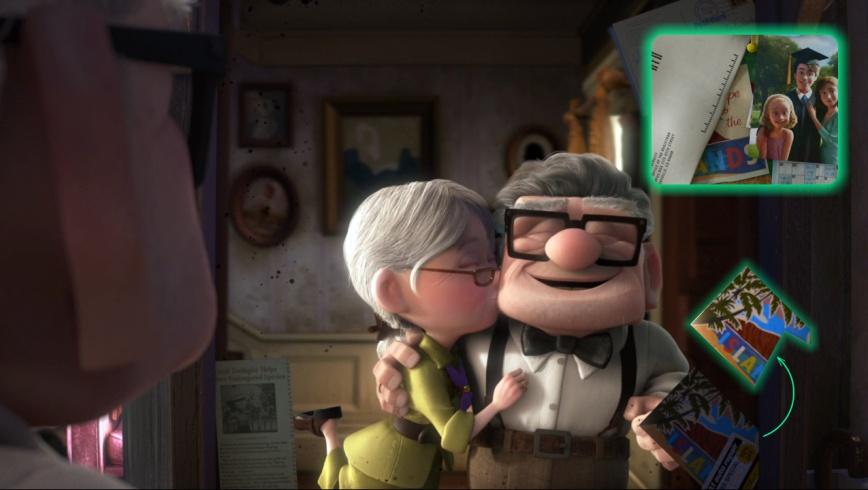 Up - Postal (Toy Story 3)