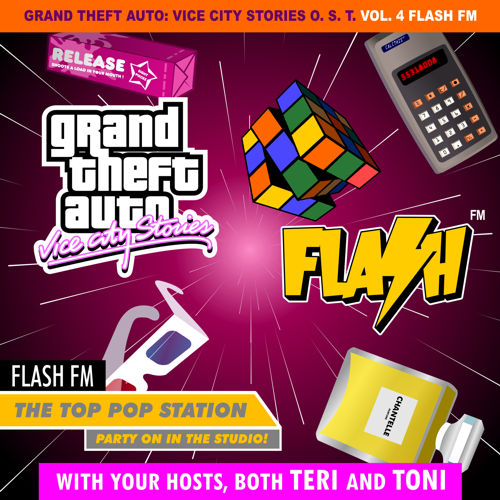 Portada de Flash FM de GTA Vice City Stories por DJBarchs