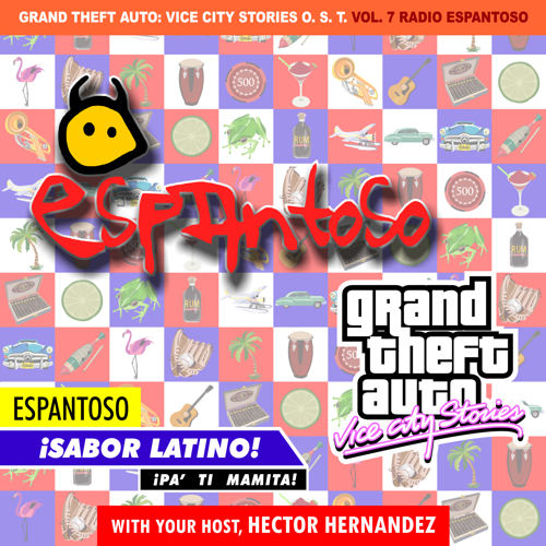 Portada de Radio Espantoso de GTA Vice City Stories por DJBarchs