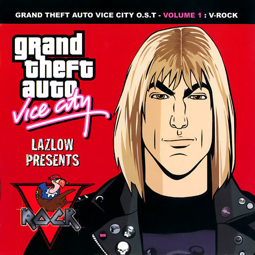 Portada de V-Rock de GTA Vice City