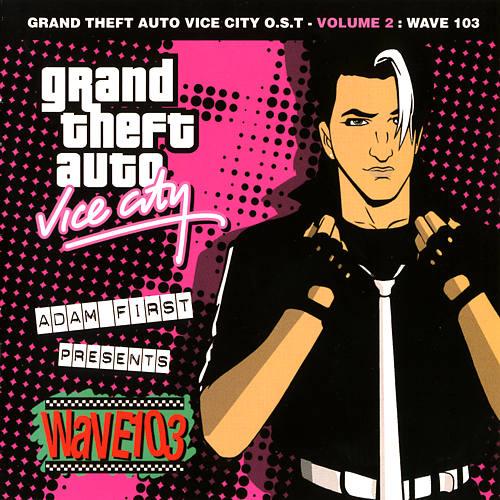 Portada de Wave 103 de GTA: Vice City