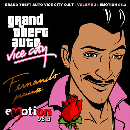 Portada de Emotion 98.3 de GTA: Vice City