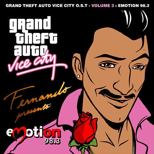 Portada de Emotion 98.3 de GTA: Vice City