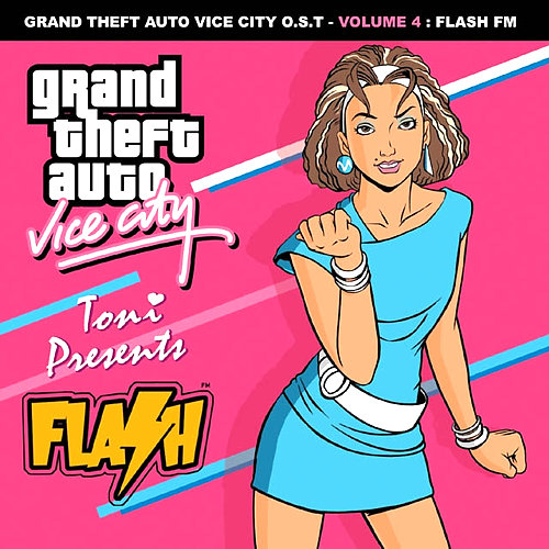Portada de Flash FM de GTA: Vice City