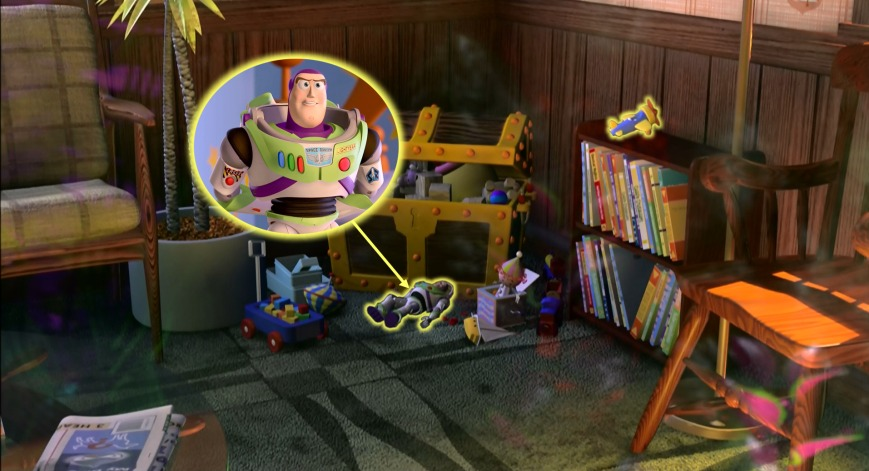 Buscando A Nemo - Buzz Lightyear (Toy Story)