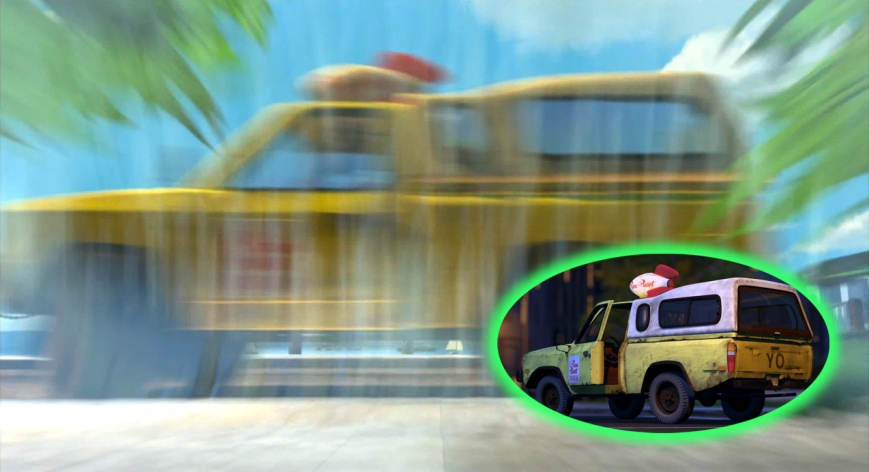 Buscando A Nemo - Camioneta Pizza Planeta (Toy Story)