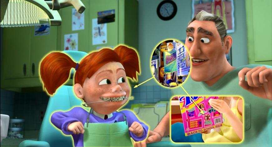 Buscando A Nemo - Darla (Bichos, Toy Story 3)