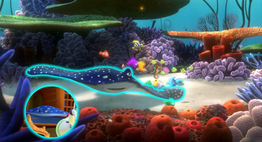 Buscando A Nemo - Profesor Raya (Toy Story 3)