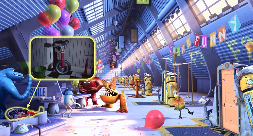 Monsters, Inc. - Monociclo