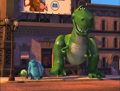 Monsters, Inc. - Rex