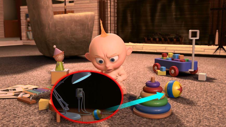 Pixar Shorts - El Ataque De Jack-Jack (Luxo Jr.)