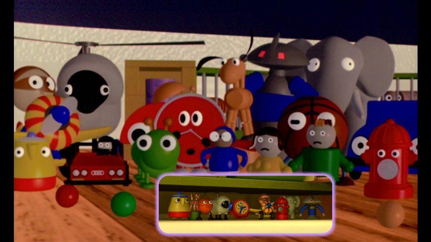 Pixar Shorts - Tin Toy (Juguetes Toy Story 3)