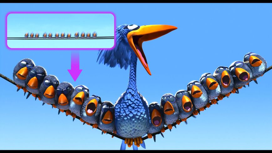 Pixar Shorts - Vuelo De Pájaros (Cars)