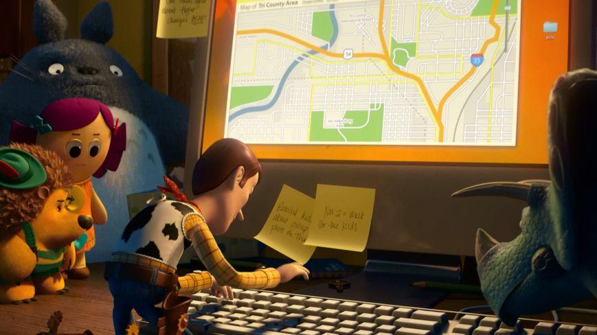 Toy Story 3 - Mapa de Tri County