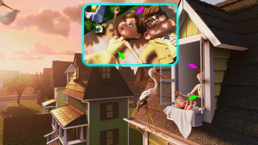 Pixar Short Films - Parcialmente Nublado (Up, Una Aventura De Altura)